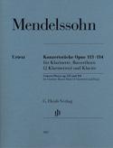 Konzertstücke, op. 113-114 - Clarinette, Cor de basset et piano laflutedepan.com