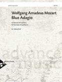 Blue Adagio - Clarinette et piano MOZART Partition laflutedepan.com
