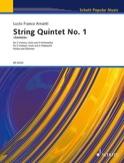 Quintette à Cordes n° 1 - Parties + Conducteur laflutedepan.com
