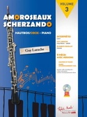 Amoroseaux Scherzando Partition Hautbois - laflutedepan.com