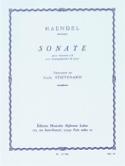 Sonate - clarinette HAENDEL Partition Clarinette - laflutedepan.com