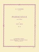 Passacaille - Harpe HAENDEL Partition Harpe - laflutedepan.com