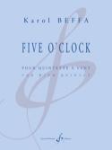 Five O'Clock - Quintette à vents Karol Beffa laflutedepan.com