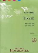 Tikvah - Alto seul - Atar Arad - Partition - Alto - laflutedepan.com