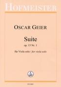 Suite, op. 15 n° 1 - Alto seul - Oscar Geier - laflutedepan.com