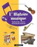 L'Histoire de la Musique Stefano Catucci Livre laflutedepan.com