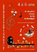 Je dessine, j'écris, je lis la musique - Volume 1 laflutedepan.com