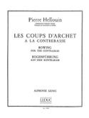 Coups d'archet à la contrebasse Pierre Hellouin laflutedepan.com