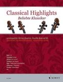 Classical Highlights - Quatuor à cordes - laflutedepan.com