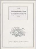 Mr Leonard's Third Booke Partition Viole de gambe - laflutedepan.com