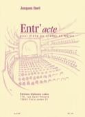 Entr'acte - Flûte harpe Jacques Ibert Partition laflutedepan.com