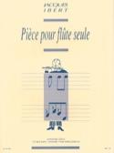Pièce pour flûte seule - Jacques Ibert - Partition - laflutedepan.com