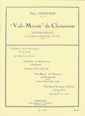 Vade Mecum du Clarinettiste Paul Jeanjean Partition laflutedepan.com