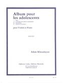 Album pour les adolescents Adam Khoudoyan Partition laflutedepan.com