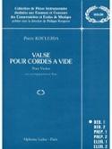 Valse pour cordes à vide Pierre Koclejda Partition laflutedepan.com