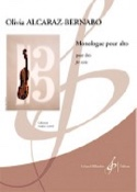 Monologue - Olivia Alcaraz-Bernabo - Partition - laflutedepan.com