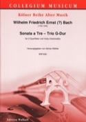 Sonata a Tre Wilhelm Friedrich Ernst Bach Partition laflutedepan.com