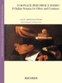 10 Sonates Italiennes - Hautbois et BC Partition laflutedepan.com