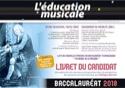 L'Education Musicale - REVUE BAC 2018 Livre laflutedepan.com