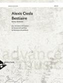 Bestiaire Alexis Ciesla Partition Clarinette - laflutedepan.com