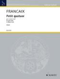 Petit Quatuor - Octuor à Vents Jean Françaix laflutedepan.com