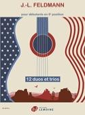 12 Duos et Trios - Guitares Jean-Louis Feldmann laflutedepan.com