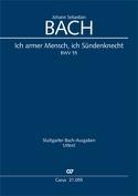 Cantate BWV 55 - Conducteur - Johann Sebastian Bach - laflutedepan.com