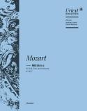 Messe en ut mineur, KV 427 - Conducteur - laflutedepan.com