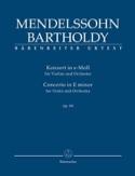 Concerto pour VIolon, op. 64 - Conducteur - laflutedepan.com