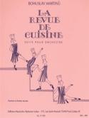La revue de cuisine Bohuslav Martinu Partition laflutedepan.com