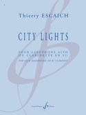 City Lights Thierry Escaich Partition Clarinette - laflutedepan.com