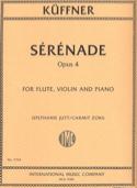 Sérénade, opus 4 - Flûte, Violon et Piano laflutedepan.com