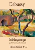 Suite Bergamasque - Quintette Claude Debussy laflutedepan.com