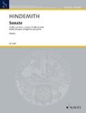 Sonate - Quintette à Vents Paul Hindemith Partition laflutedepan.com