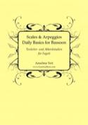 Scales and Arppeggios, Daily Basics - Basson laflutedepan.com