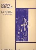 4 Visages - N° 1 la Californienne Darius Milhaud laflutedepan.com