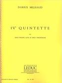 Quintette à cordes n° 4 - Parties + Conducteur laflutedepan.com