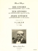 10 Etudes d'après Wieniawsky - Flûte Marcel Moyse laflutedepan.com