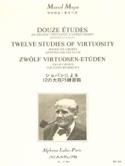 12 Etudes de grande virtuosité - Flûte laflutedepan.com