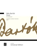 Duos für 2 Bratschen, Bd. 1 Béla Bartok Partition laflutedepan.com