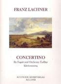 Concertino Es-Dur, op. 23 Franz Lachner Partition laflutedepan.com