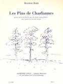 Les Pins De Charlannes Henriette Renié Partition laflutedepan.com