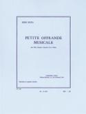 Petite offrande musicale -Partition + parties laflutedepan.com
