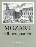 Quatuor avec Hautbois, Kv 370 Wolfgang Amadeus Mozart laflutedepan.com