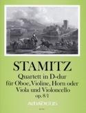 Quartet in D major op. 8/1 Carl Stamitz Partition laflutedepan.com