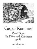2 Duos, op.46 Gaspard Kummer Partition Duos - laflutedepan.com