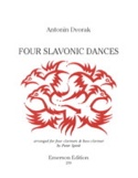 4 Danses Slaves Antonin Dvorak Partition Clarinette - laflutedepan.com