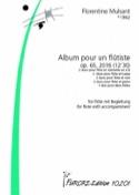 Album pour un Flûtiste, op. 65 Florentine Mulsant laflutedepan.com