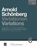 Variations, op. 31 - Analyse Arnold Schoenberg Livre laflutedepan.com