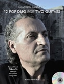 12 Pop Duo for Two Guitars Maurizio Colonna Partition laflutedepan.com